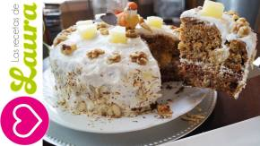 El más deliciosos Pastel de Zanahoria Casero – Postres deNavidad