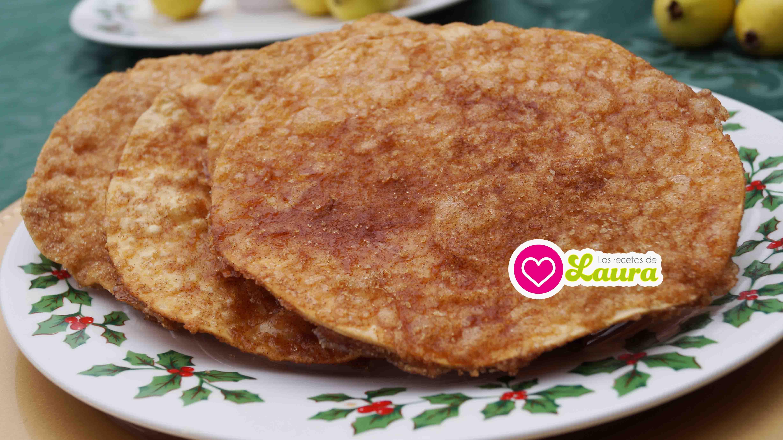 receta de bunuelos mexicanos