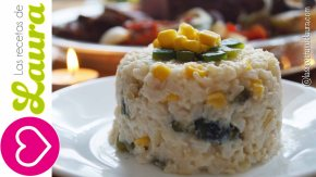 Delicioso arroz con crema, elote y poblano -Acompañamientos paraNavidad